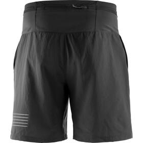 Salomon XA Pantalones Cortos de Entrenamiento Hombre, black
